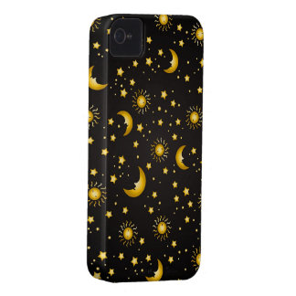 Dark Sky: Black iPhone 4 Covers