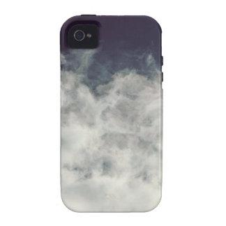 Dark Sky, Bright Cloud iPhone 4 Case