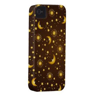 Dark Sky: Brown iPhone 4 Case-Mate Cases