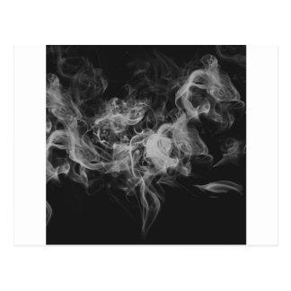 dark smoke postcard