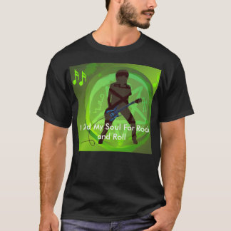 Dark Sold My Soul For Rock n Roll T-shirt