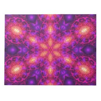 Dark Star Mandala Notepad