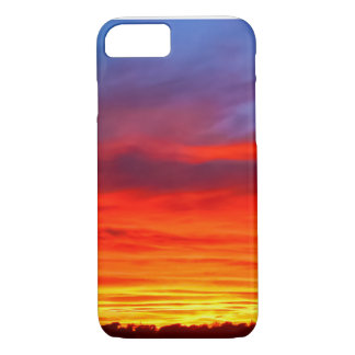 Dark Sunset iPhone 7, Barely There iPhone 7 Case