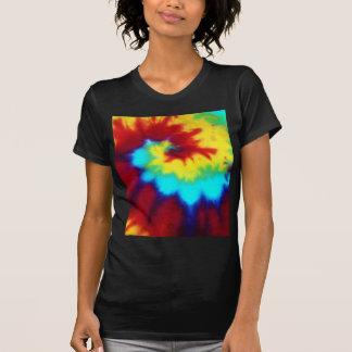 Dark Tie Dye Design T Shirts
