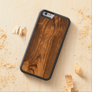 dark wood board cherry iPhone 6 bumper