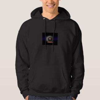 DarkSide Hooded Sweatshirt, Black Hoodie
