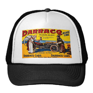 Darracq - Vintage Auto Advertisement Trucker Hat
