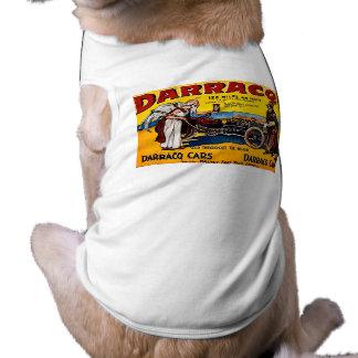Darracq - Vintage Auto Advertisement Sleeveless Dog Shirt