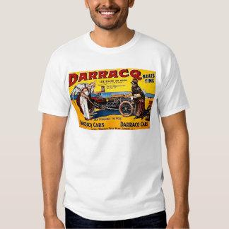 Darracq - Vintage Auto Advertisement Tees