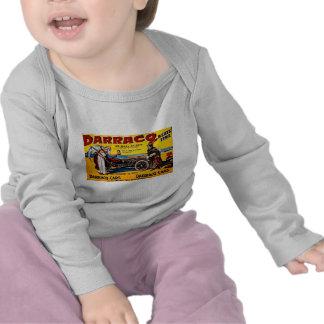Darracq - Vintage Auto Advertisement T-shirts