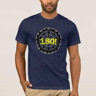 Dart board t-shirt for fans and enthusiasts
