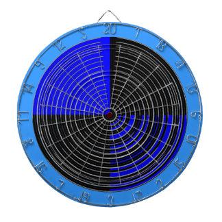 DART Chakra 112 Basket Weave Blue n Black Dartboard