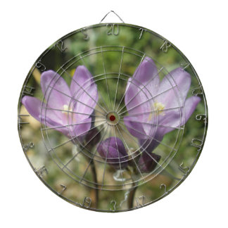 Dartboard for her with Wild flowers