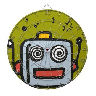 Dartbord funny robot dartboard