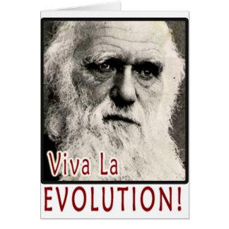 Darwin - Viva La Evolution! Card