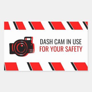 'Dash Cam in Use' Sticker