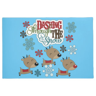 Dashing Throw The Snow Doormat