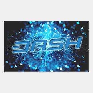 DashS ticker A249 Rectangular Sticker