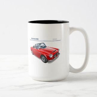 Datsun 2000 fairlady roadster coffee mugs