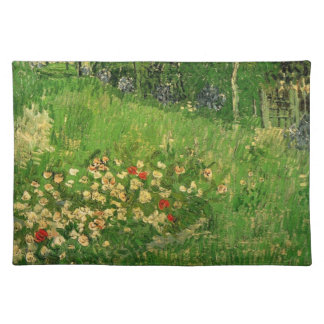 Daubigny's Garden by Vincent van Gogh, Vintage Art Placemat