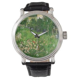 Daubigny's Garden, Vincent Van Gogh. beautiful Wrist Watches