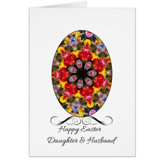 Happy easter daughter gifts t shirts art posters other gift daughter amp husband happy easter card negle Image collections