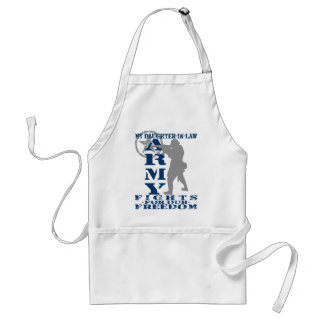 Daughter-in-law Fights Freedom - ARMY Standard Apron