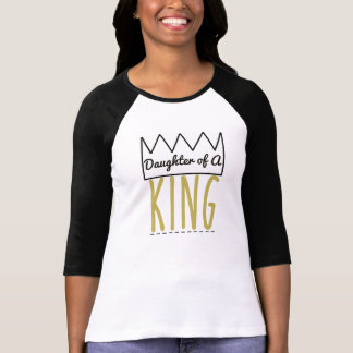 Daughter of a King Christian Baseball Shirt