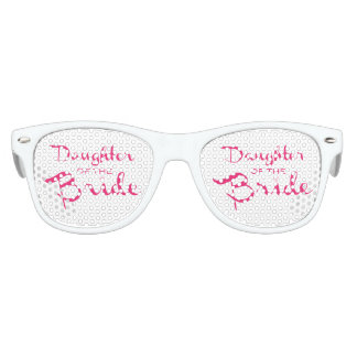Daughter of Bride Pink On White