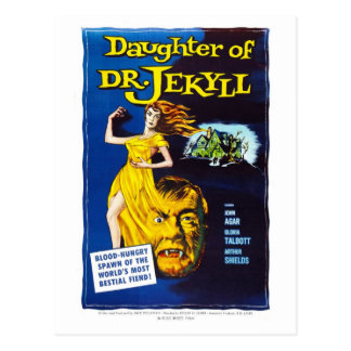 Daughter of Dr. Jekyll Postcard