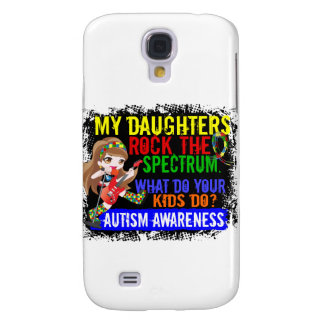 Daughters Rock The Spectrum Autism Galaxy S4 Cover