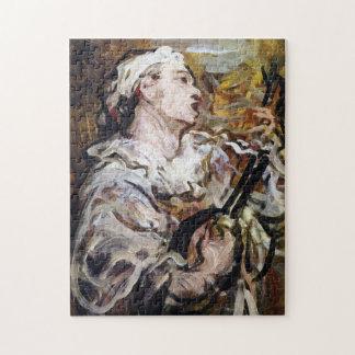 Daumier's Pierrot art puzzle