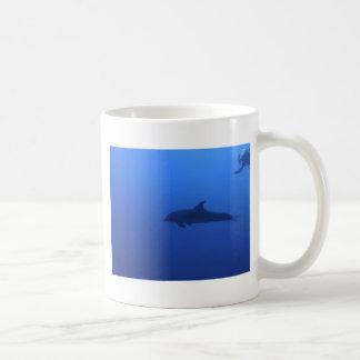 Dauphin Dolphin Customizable Basic White Mug