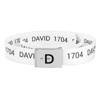 David 1704 range belt