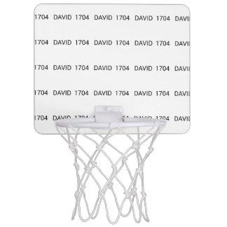 David 1704 range mini basketball hoop