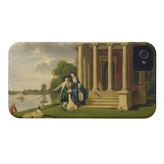 David Garrick (1717-79) and his Wife by his Temple iPhone 4 Cover