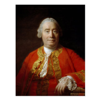 David Hume by Allan Ramsay (1766) Postcard