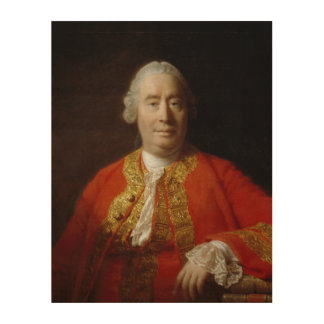 David Hume by Allan Ramsay (1766) Wood Wall Decor