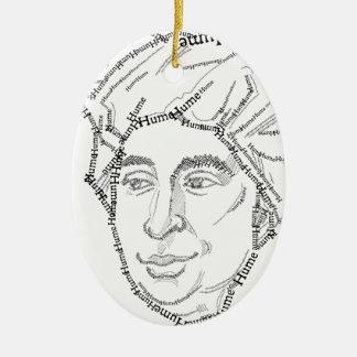 David Hume Christmas Ornament