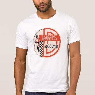 Davis Rod & Cycle, Ducati Service Logo T-Shirt