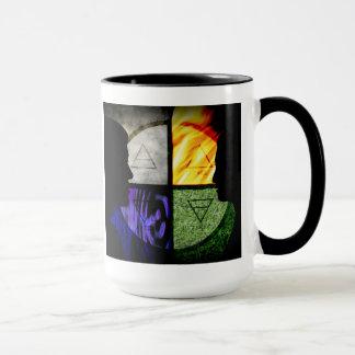 Dawn Island Sillohette Mug