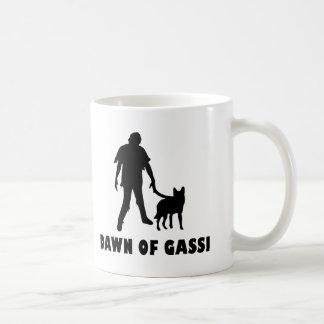 dawn of gassi hund coffee mug