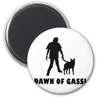 dawn of gassi hund magnet