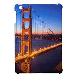 Dawn over San Francisco and Golden Gate Bridge. iPad Mini Cover