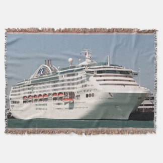 Dawn Princess cruise ship Throw Blanket