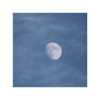 Day Moon Canvas Print