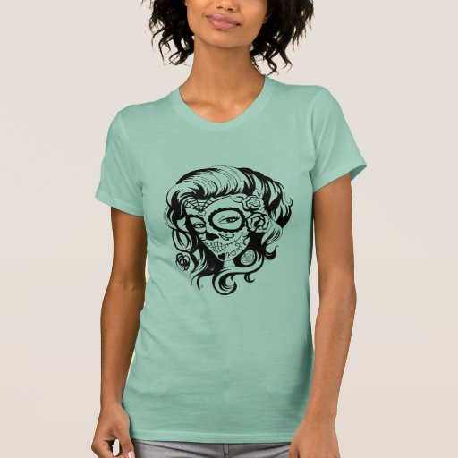 Day of the Dead Beauty Shirts