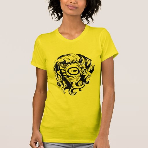 Day of the Dead Beauty Tee Shirt