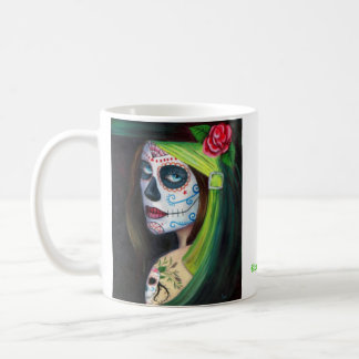 Day of the  Dead by Lori Karels Coffee Mug