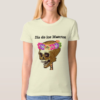 Day of the Dead Skull Art T Shirts